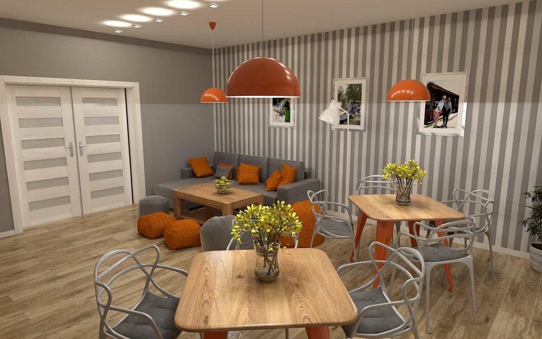 Wnętrze Domu zaprojektowane przez Magdę Gertig – projektantkę o wielkim sercu